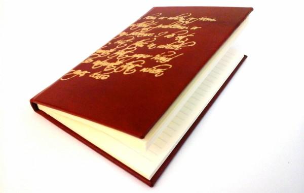 Diario Personalizzato in Oro